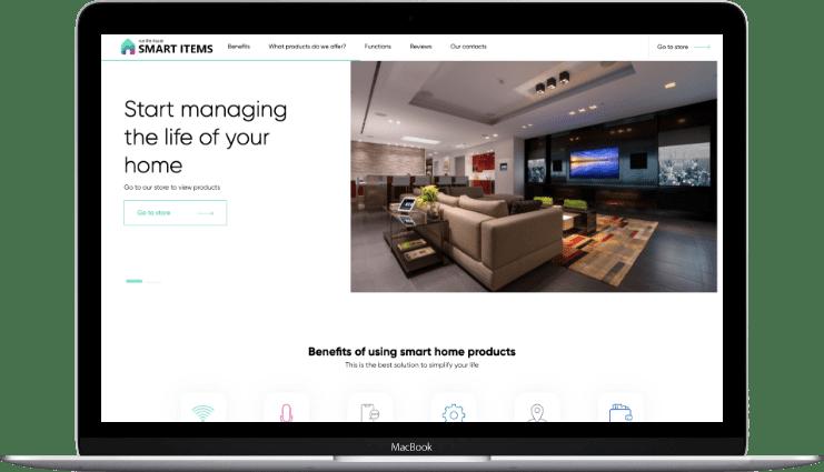 Разработка сайтов под ключ   Веб студия Lobster